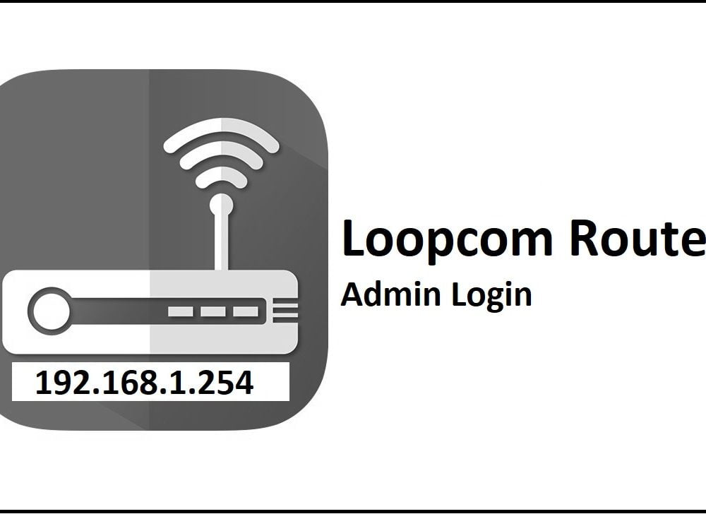 192.168.1.254 Loopcom Router Admin Login Password Change