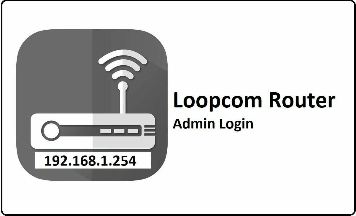 Loopcom Router Admin Login Password Change
