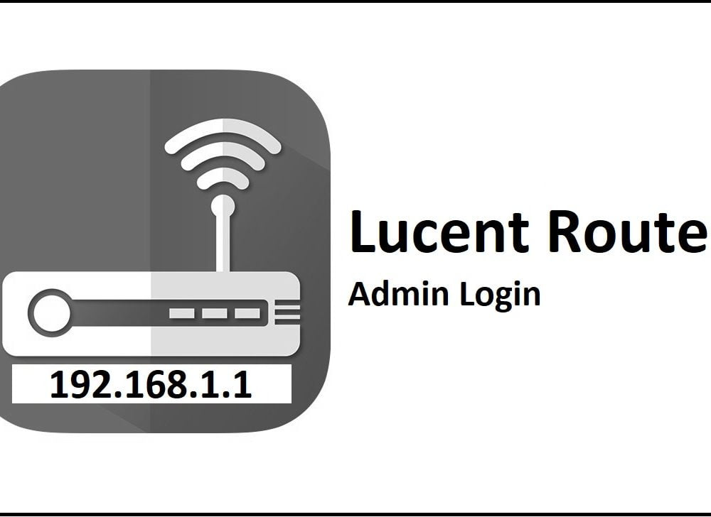 192.168.1.1 Lucent Router Admin Login & Password Change