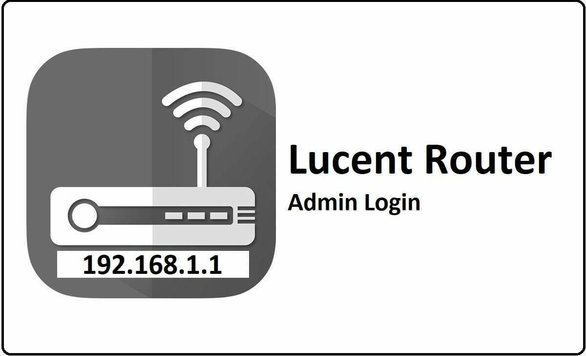 Lucent Router Admin Login Password Change