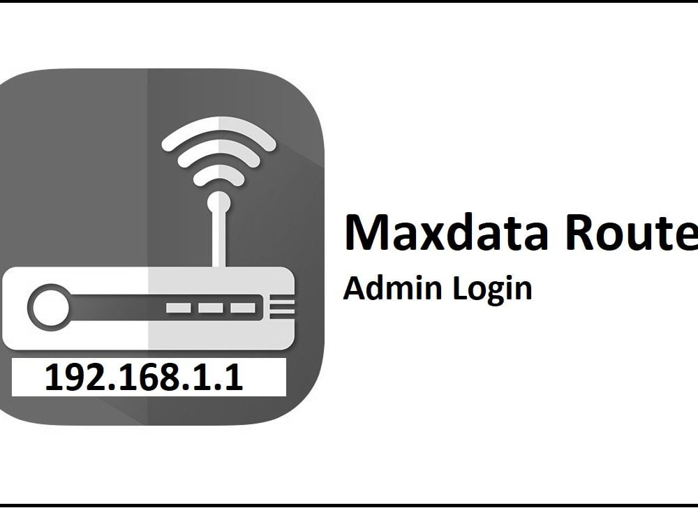 192.168.1.1 Maxdata Router Admin Login Password Change