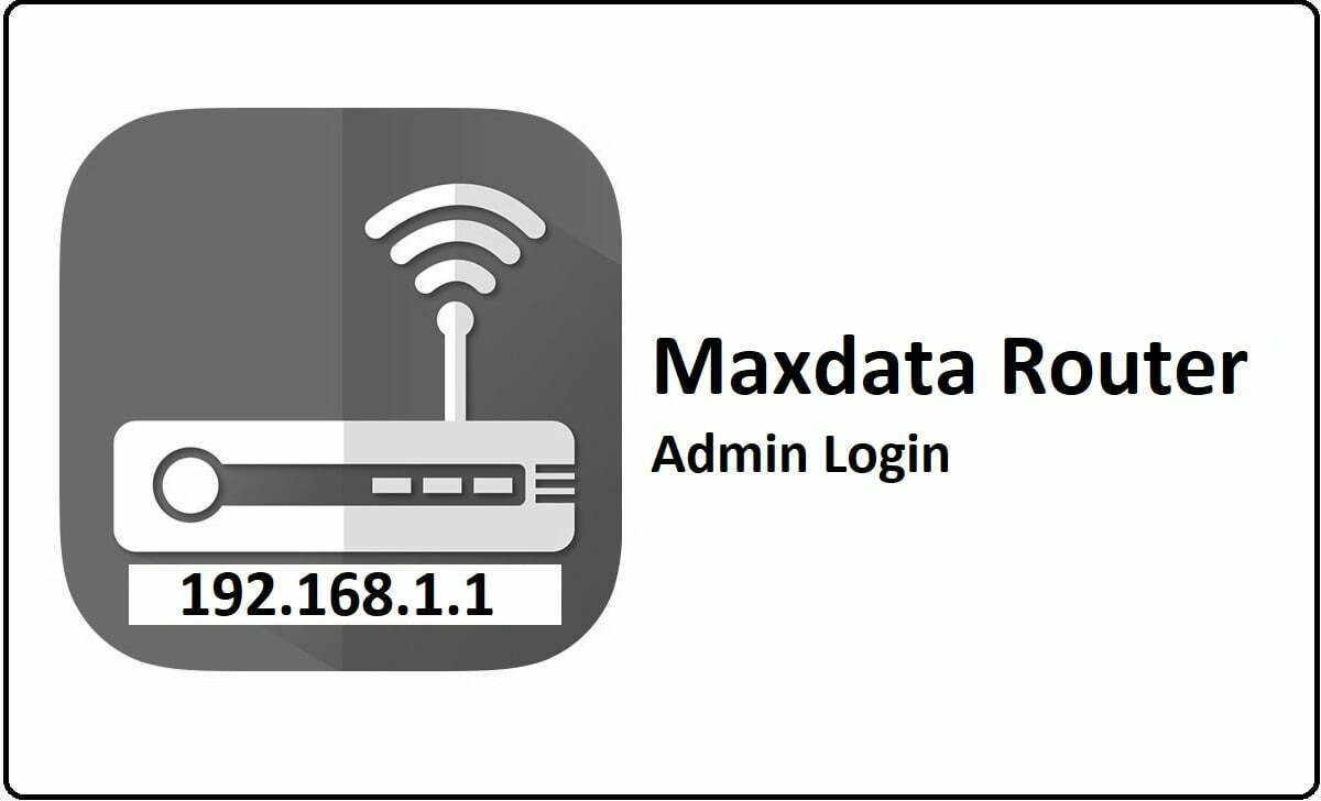 Maxdata Router Admin Login Password Change