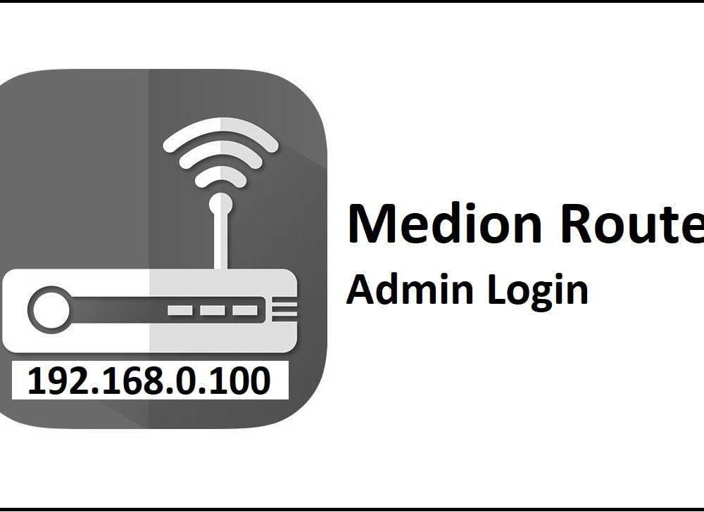 192.168.0.100 Medion Router Admin Login Password Change