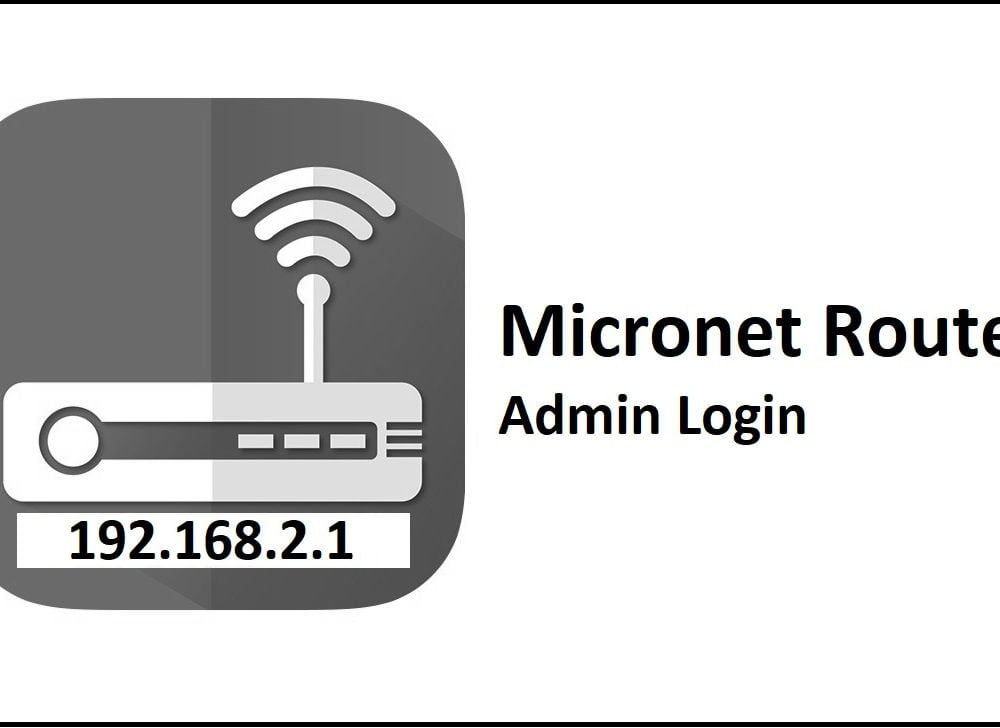 192.168.2.1 Micronet Router Admin Login Password Change