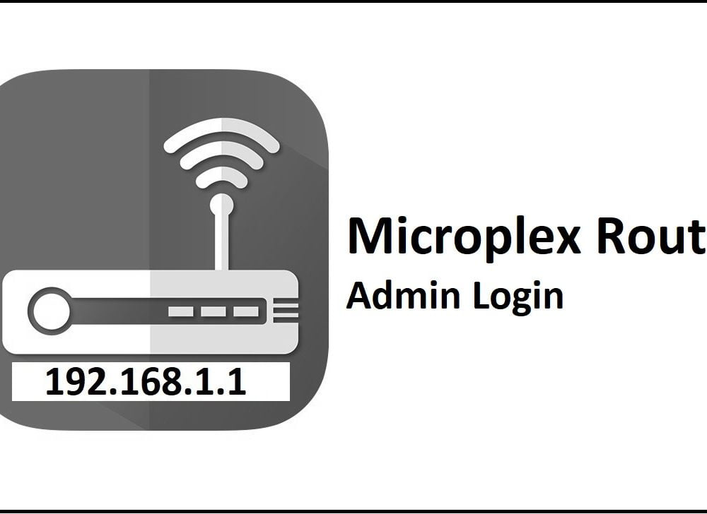 192.168.1.1 Microplex Router Admin Login Password Change