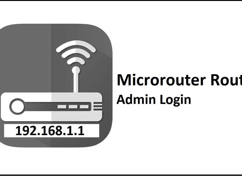 192.168.1.1 Microrouter Router Admin Login Password Change