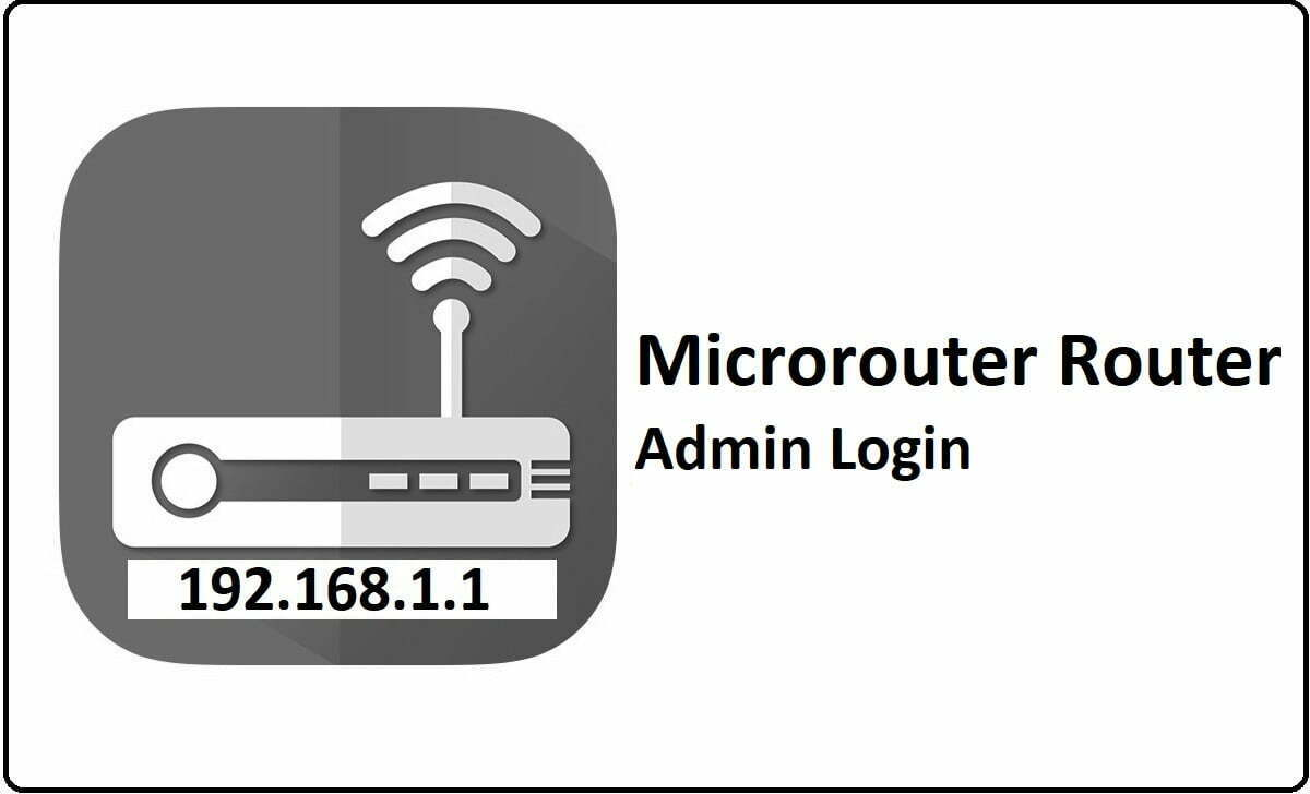Microrouter Router Admin Login Password Change
