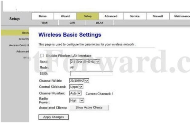 Microrouter Router Wireless Basic Settings
