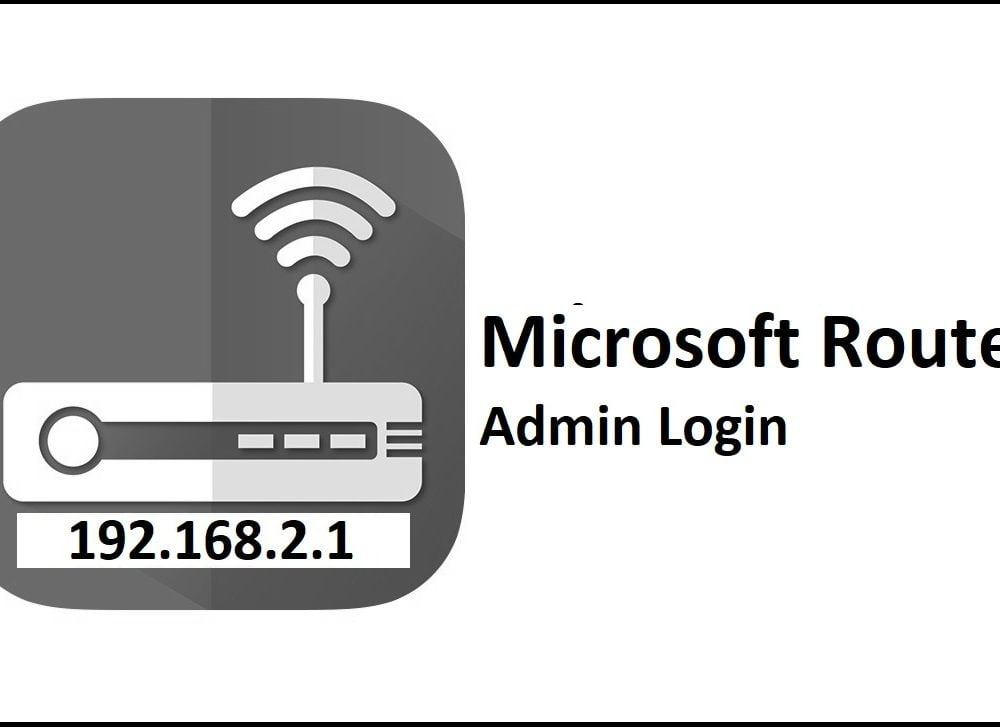 192.168.2.1 Microsoft Router Admin Login Password Change