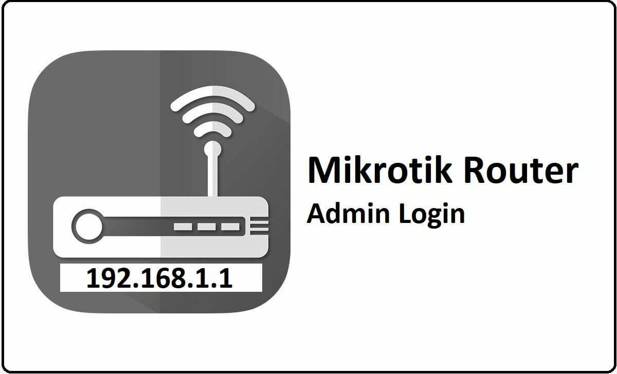 Mikrotik Router Admin Login Password Change