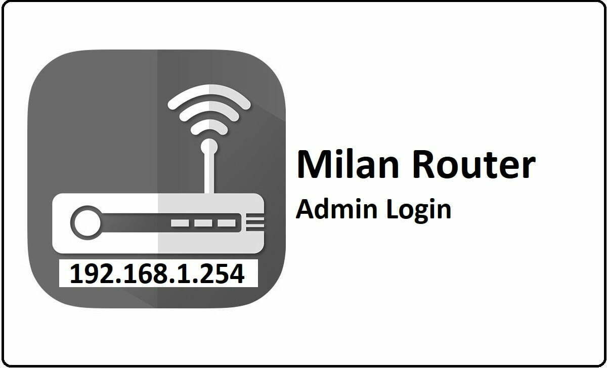 Milan Router Admin Login Password Change