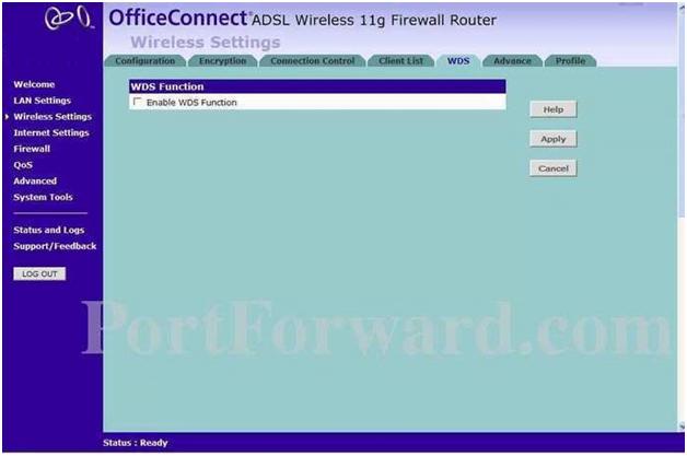 Minolta QMS Router WDS Function