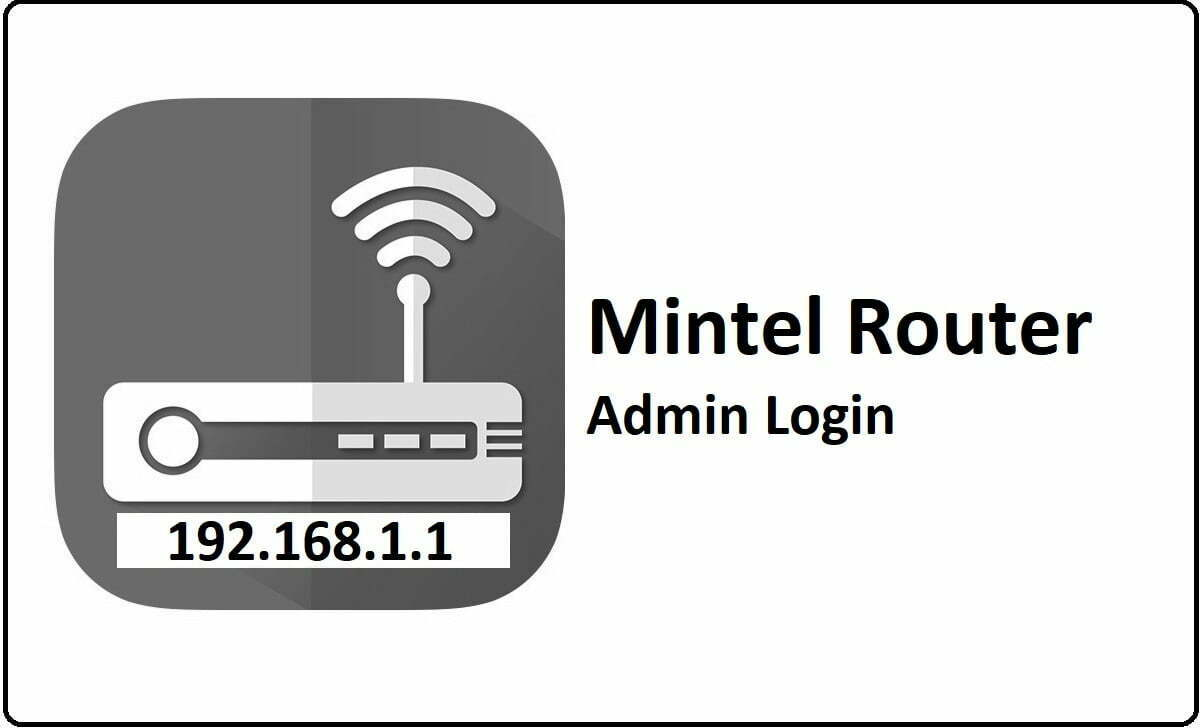 Mintel Router Admin Login Password Change