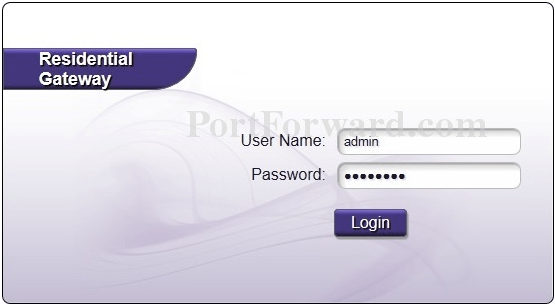 Mintel Router Login Page