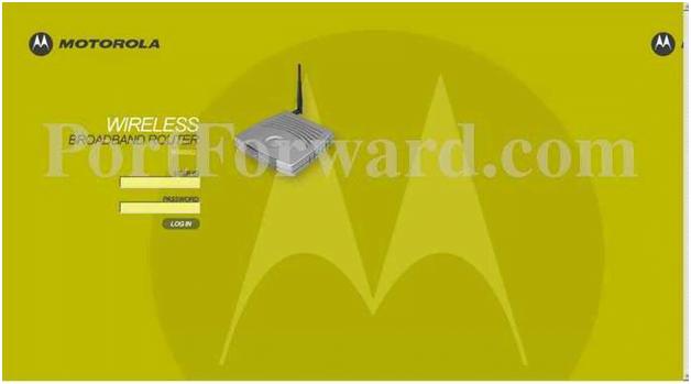 192.168.0.1 Motorola Router Admin Login Password Change