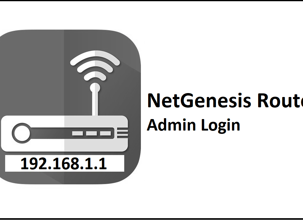 192.168.1.1 NetGenesis Router Admin Login Password Change