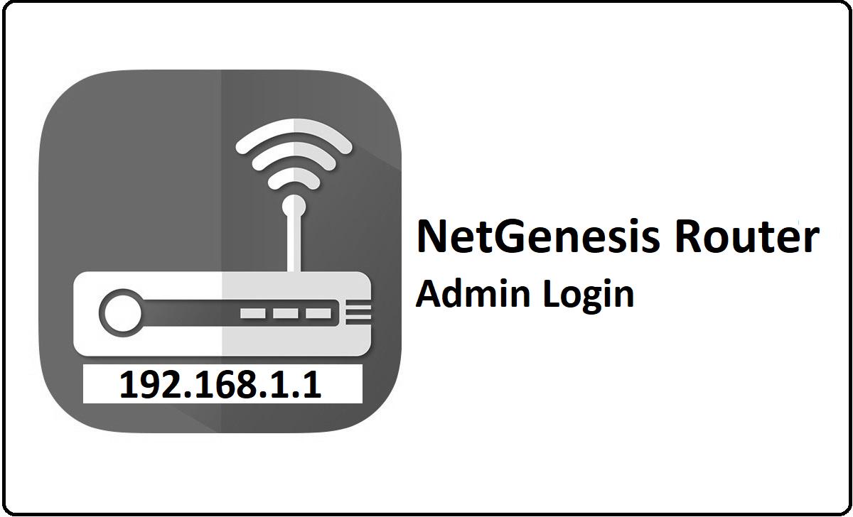 NetGenesis Router Admin Login Password Change