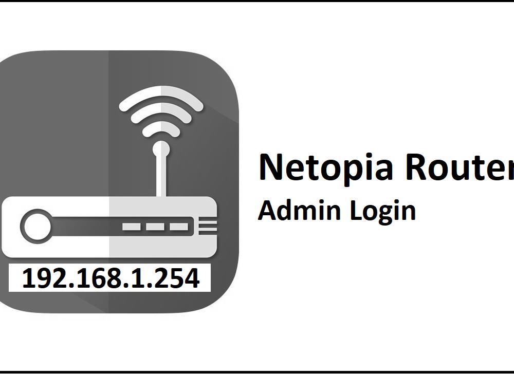 192.168.1.254 Netopia Router Admin Login Password Change