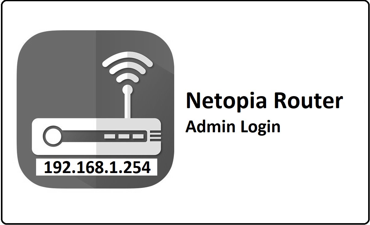 Netopia Router Admin Login Password Change