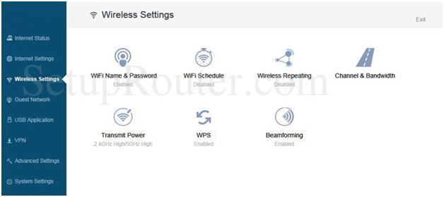 Netport Router Wireless Settings