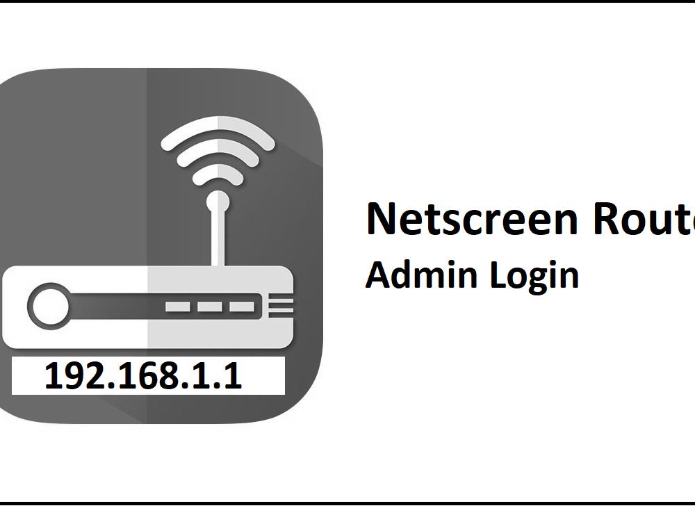 192.168.1.1 Netscreen Router Admin Login Password Change