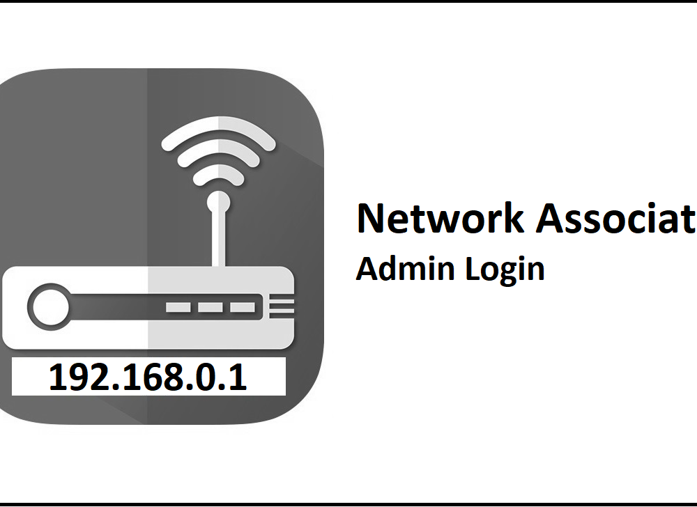 192.168.0.1 Network Associates Router Admin Login Password Change