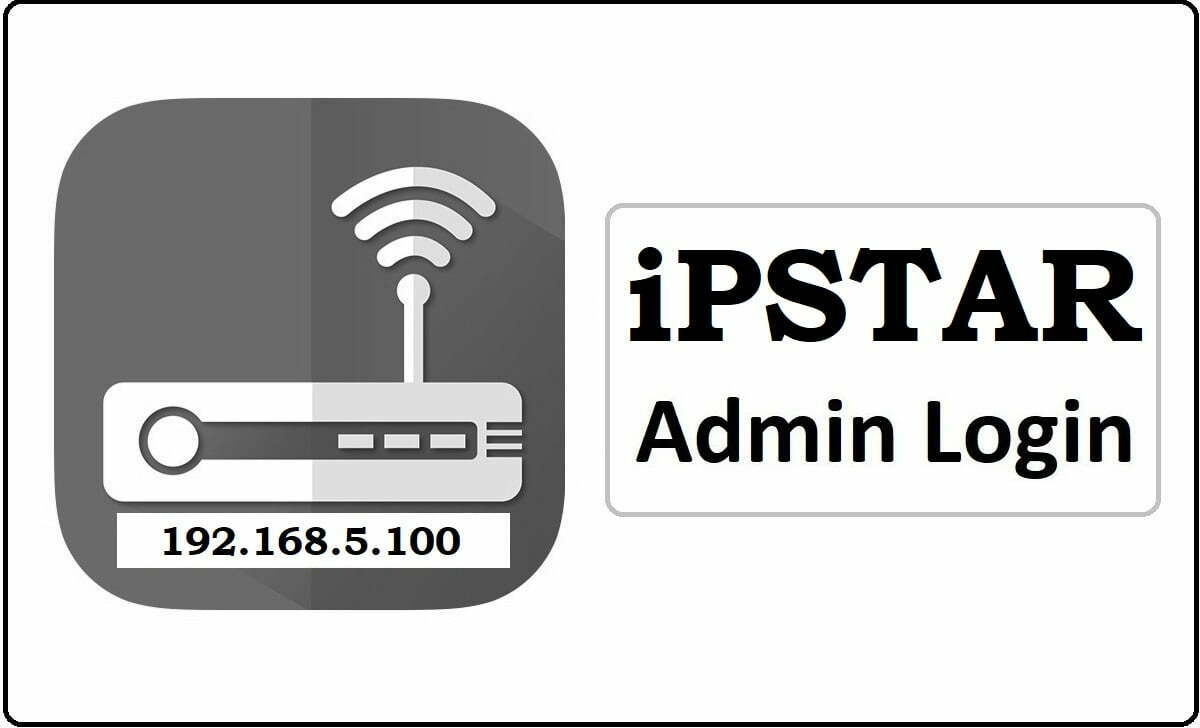 iPSTAR Router Admin Login Password Change