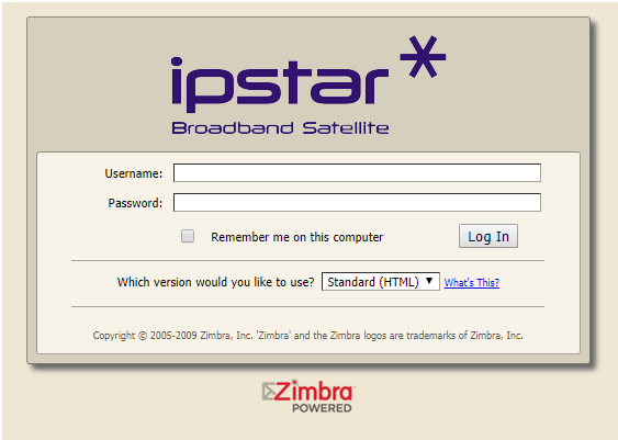 iPSTAR Router Admin Login