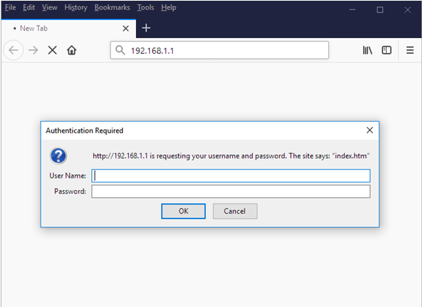 192.168.1.1 Nokia Router Admin Login Password Change