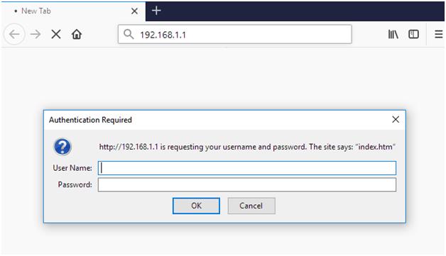 192.168.1.1 Nortel Router Admin Login Password
