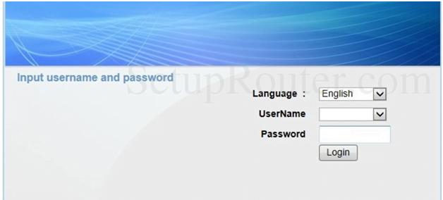 192.168.1.1 OKI Router Admin Login Password Change