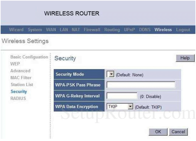 Pacific Micro Data Router Security