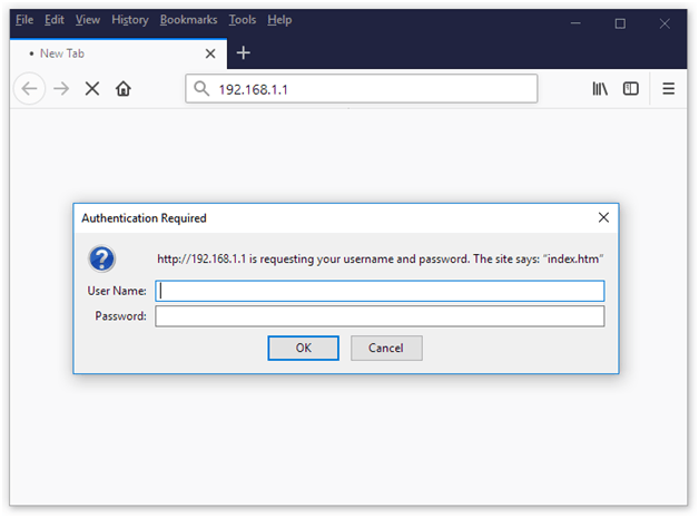 Pentagram Router Admin Login
