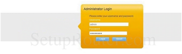 Pentaoffice Router Admin Login Page