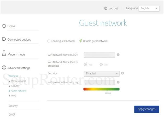 Trendchip Router Guest Network